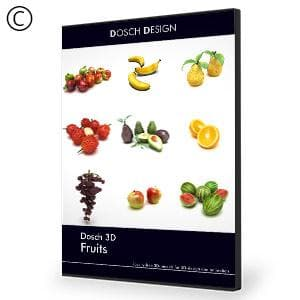 DOSCH 3D: Fruits-Dosch Design-NOVEDGE
