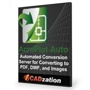 AcroPlot Auto - Conversion Server-CADzation-NOVEDGE
