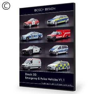 DOSCH 3D: Emergency & Police Vehicles - NOVEDGE