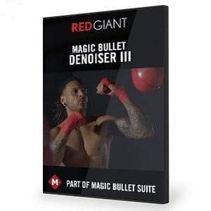Magic Bullet Denoiser III-Red Giant-NOVEDGE