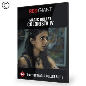 Magic Bullet Colorista IV-Red Giant-NOVEDGE