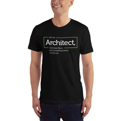 Architecture Quote T-Shirt, Black-NOVEDGE-NOVEDGE