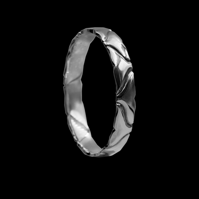 MALE WHALE RING