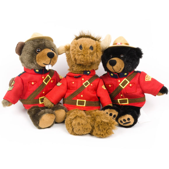 RCMP Stuffed Animals for Kids