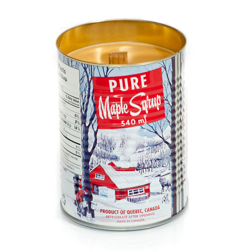 maple syrup scented candle