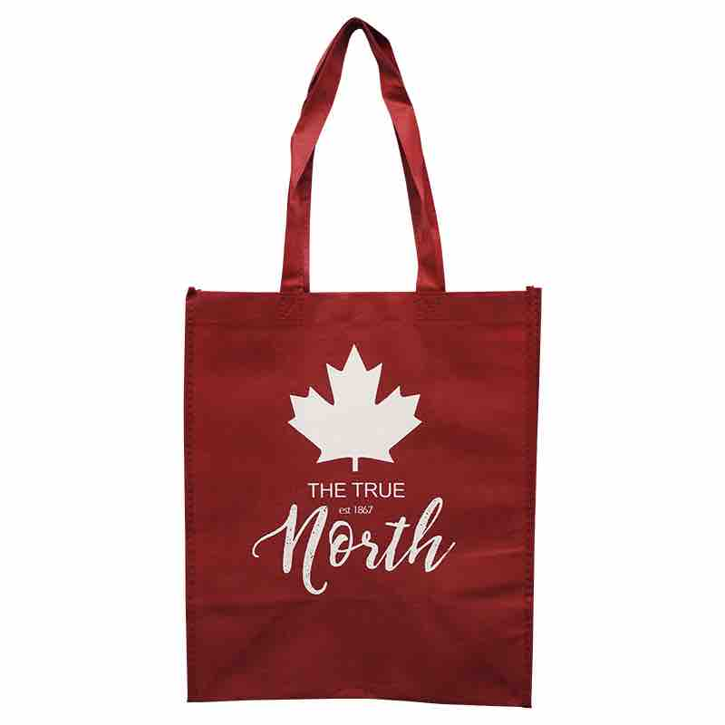 true north shopping tote bag