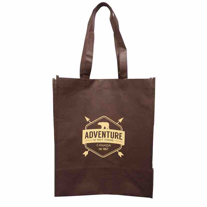 adventure bear shopping tote bag