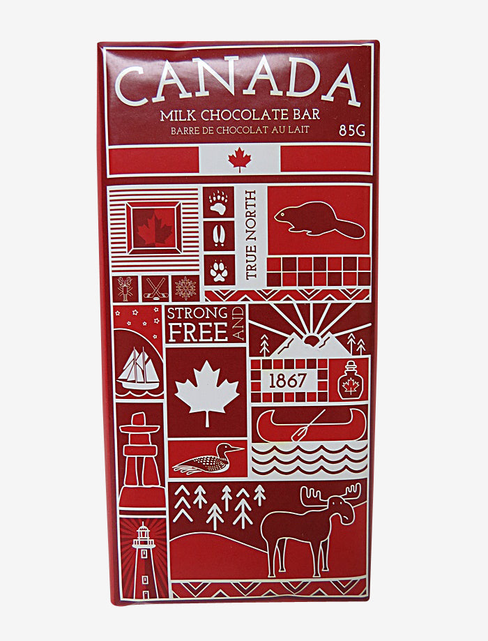 canada chocolate bar