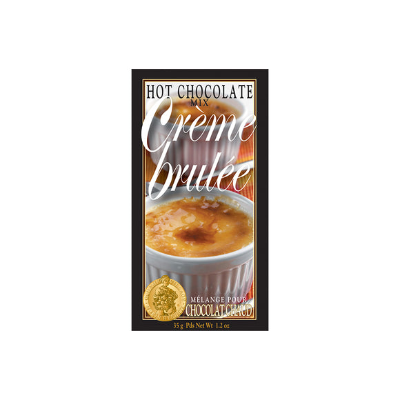 Creme Brulee Hot Chocolate Packet
