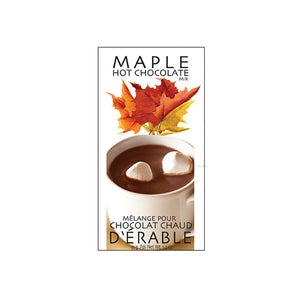 Maple Flavoured Hot Chocolate Packet