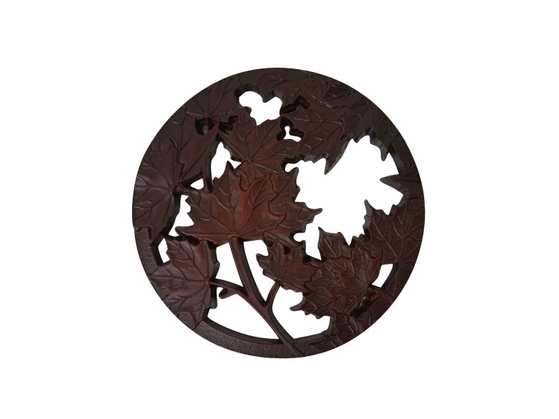 maple leaves trivet