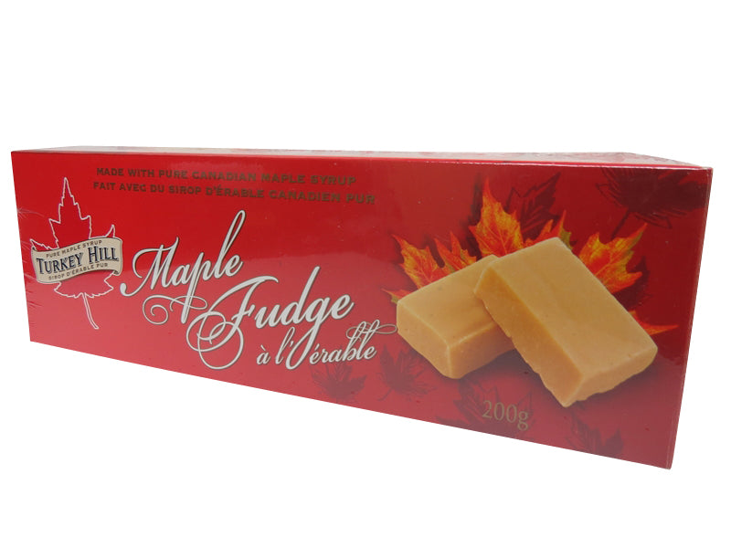 canadian pure maple syrup fudge