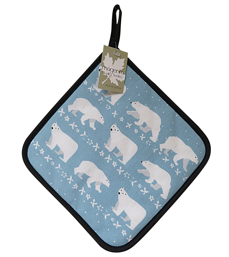 Polar Bear Pot Holder