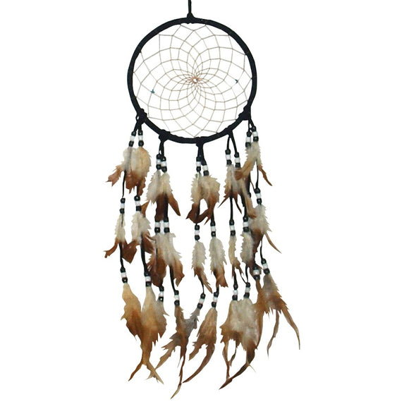 black aboriginal dream catcher
