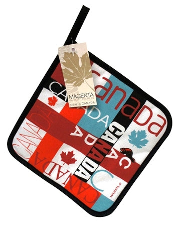 Canada Mosaic Pot Holder