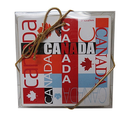 canadian mosaic coasters