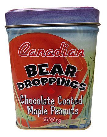 Canadian bear droppings chocolate coated peanuts