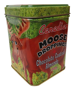 canadian moose droppings chocolate coated almonds