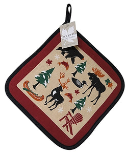 Canadian Heritage Pot Holder