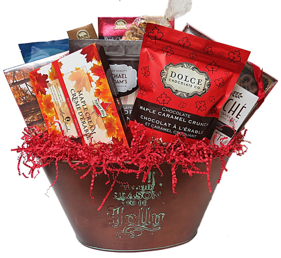 Chocoholic Gift Basket
