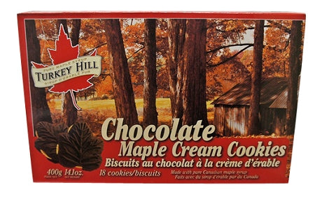 chocolate maple cream cookies from canada