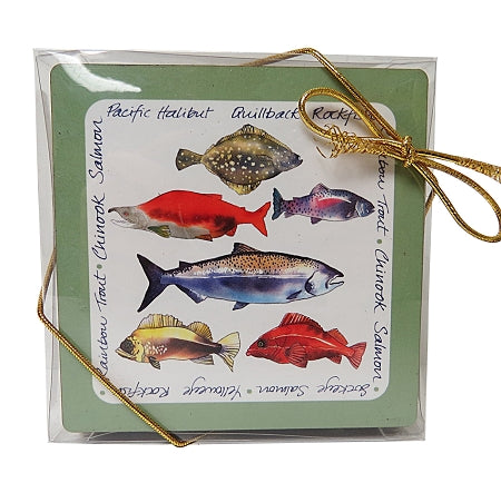 canadian fish coasters