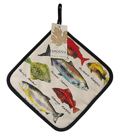 Fish of Canada Pot Holder