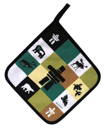 Inukshuk Pot Holder