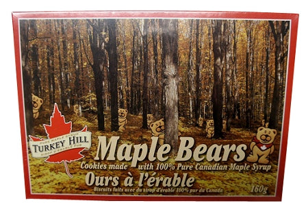 maple bear cookies from canada
