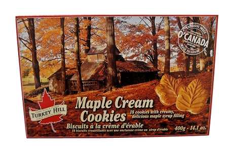 Canadian maple cream cookies