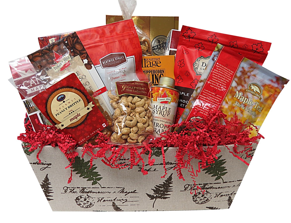 Marvellous Maple Gift Basket
