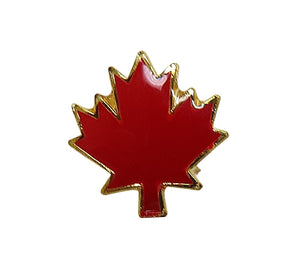 Canadian Red Maple Leaf Lapel Pin