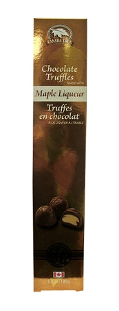 maple liqueur chocolate truffles