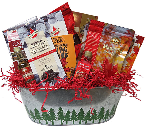 Maple & Icewine Gift Basket