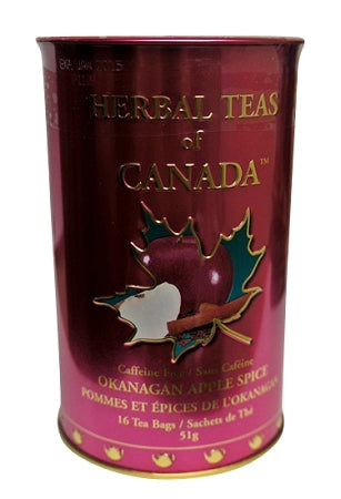 Okanagan apple spice flavoured tea