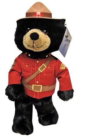 rcmp souvenir stuffed animal black bear