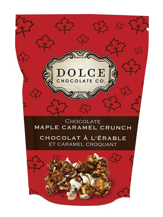 maple chocolate popcorn
