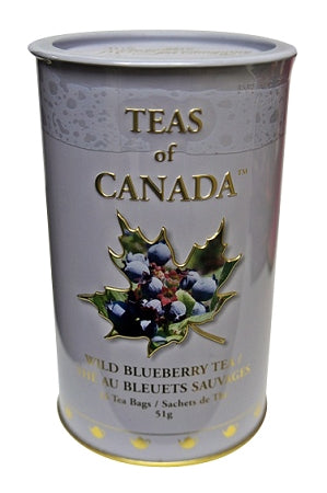 wild blueberry canadian tea