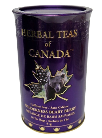 Berry flavoured canadian tea