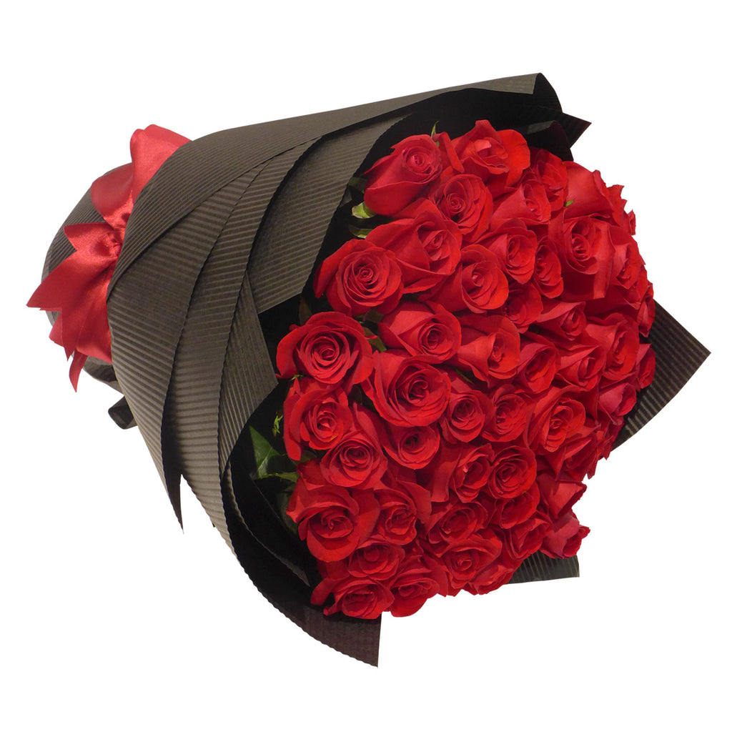 50 Premium Long Stems Rose Bouquet
