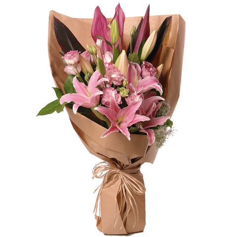 The Sweet Spring Stargazer Lily Bouquet