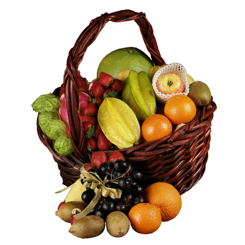 Deluxe Seasonal Fruit Basket