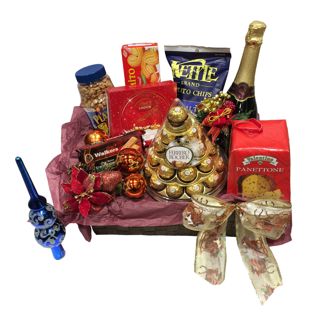 X'mas & New Year Gift Basket - Ideal Gourmet Hamper for Hong Kong