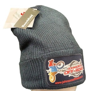 "Beanie ""Johnson's Off-Road"" Double Knit"