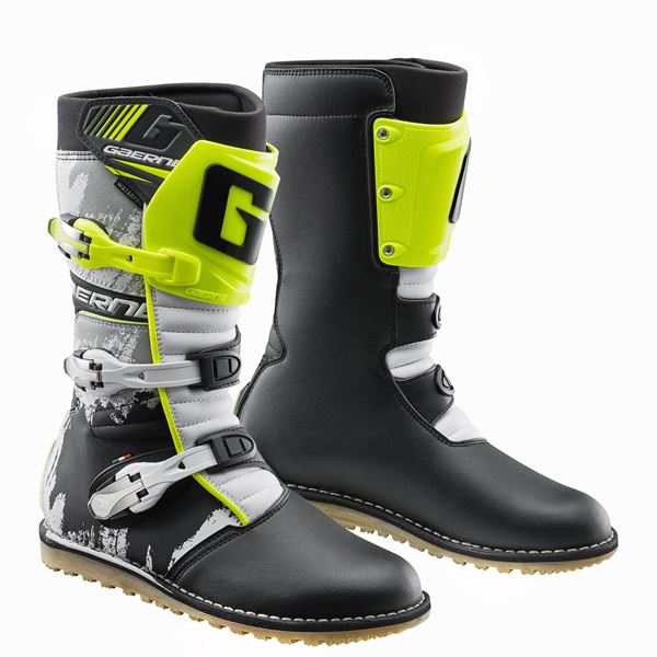 Gaerne Classic White/Yellow/Black Trials Boot