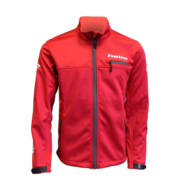 JACKET BAGGY SOFTSHELL RED