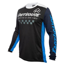 Load image into Gallery viewer, Fasthouse Rally Jersey Black/Blue