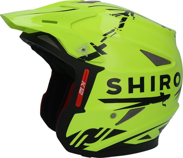 Shiro K-12 Trials Helmet