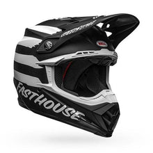 Load image into Gallery viewer, Fasthouse X Bell Moto-9 Mips Signia Helmet Black/White