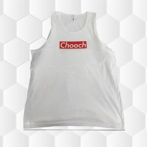 Chooch Unisex White Tank Top